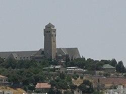 Siur wikipedia in Jerusalem 080608 57.JPG