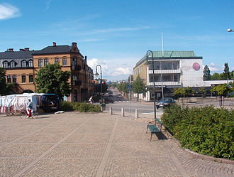 Sjöbo Municipality - Main village square
