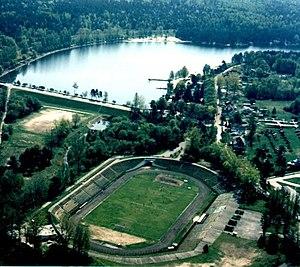 Skarżysko-Kamienna - Image: Skarzysko kamienna rejow stadion