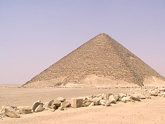 Egyptian pyramids - Sneferu's Red Pyramid