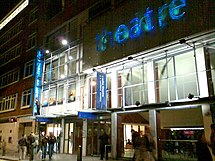 Soho Theatre at night in 2006.jpg