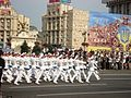 Soldiers, Independence Day military parade in Kiev.JPG