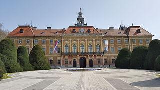 Sombor City in Vojvodina, Serbia