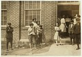 Some samples (not all) of the children in the 'Kindergarten Factory' run by the High Point and Piedmont Hosiery Mills, High Point, N.C. Every child in these photos worked; I saw them at work LOC nclc.02639.jpg