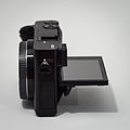 Sony Alpha ILCE-6000 APS-C-frame camera side screen tilted max.jpeg