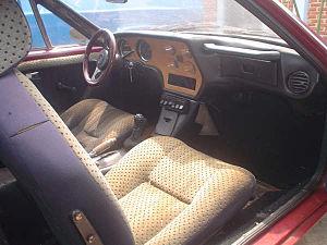 Volkswagen SP2 - Image: Sp 2 interior