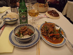 Spicy beef at restaurant Mad'In Viet, Nice, France.jpg