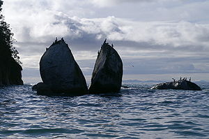Split Apple Rock Abel Tasman National Park New Zealand.jpg