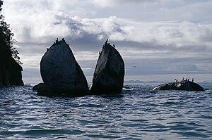 Split Apple Rock Abel Tasman National Park New Zealand.jpg
