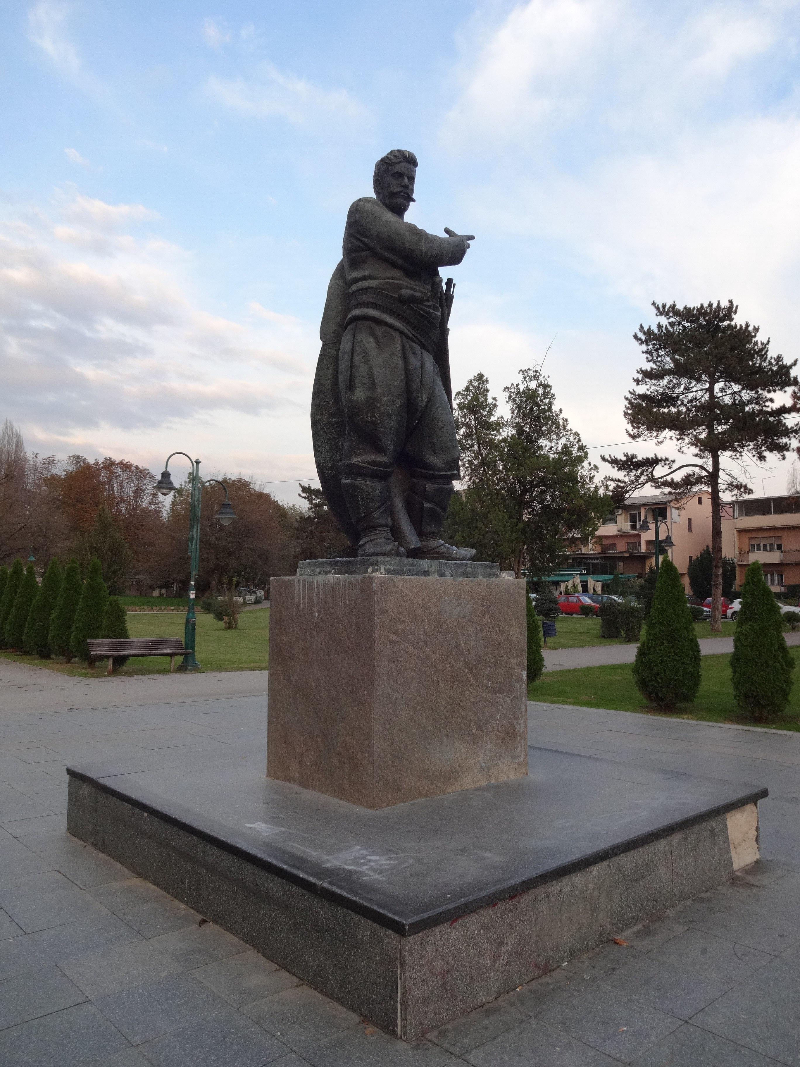 File Spomenik Na Goce Delcev Park 13 Jpg Wikimedia Commons