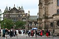 Square in front of the McEwan Hall on graduation day - geograph.org.uk - 866110.jpg