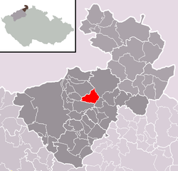 Location of Srbská Kamenice