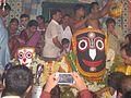 Sri Sri Jagannathdev in temple, in the day of Rathayatra, Mahesh, Serampore- 2.jpg