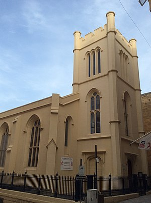 St. Andrew's Scots Church, Malta - Image: St. Andrew's Scots Church, Malta
