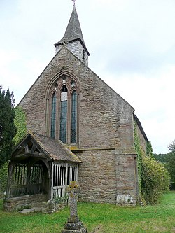 St. John the Baptist's church, Aconbury - geograph.org.uk - 1471665.jpg