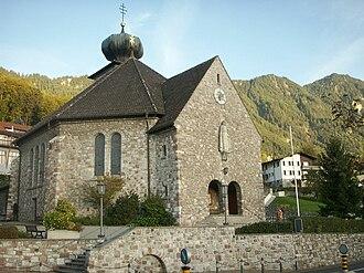 Triesenberg - Image: St. Joseph's Parish Church in Triesenberg