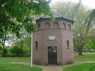 Hans van der Laan - Image: St. Jozef Gedachtenis Kapel, Hortensiapark, Helmond