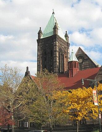 William Appleton Potter - St Martin's Church, Harlem, New York City (1888).