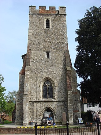 Maldon, Essex - Tower of St Peter's Church