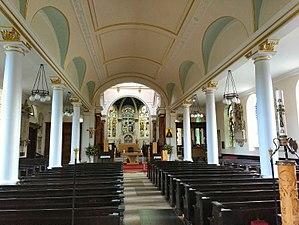 St Anne's Church, Kew - Interior of St Anne's