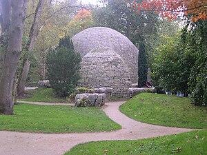 Saint Fiacre - St. Fiachra's garden