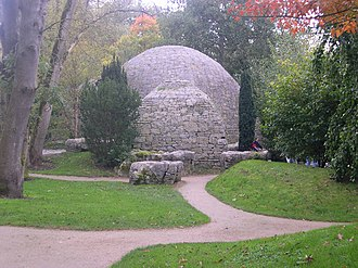 Saint Fiacre - St. Fiachra's garden, Irish National Stud and Gardens