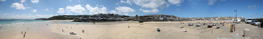St Ives seen across the harbour