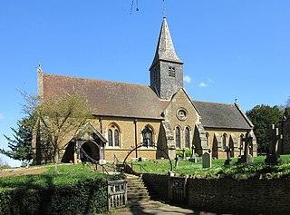 Busbridge village in the United Kingdom