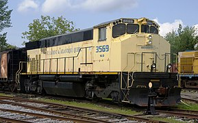 St Laurent and Atlantic Railway M420W no 3569 front.jpg