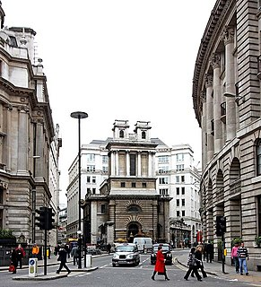 street in the City of London