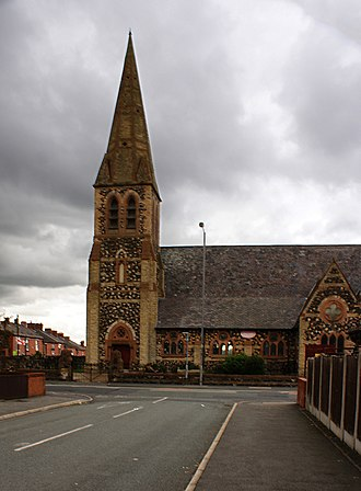 Parr, St Helens - Image: St Peter's Church, Parr, St Helens