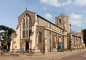 Church of St Peter, Great Berkhamsted - Image: St Peter's Parish Church, Berkhamsted, Hertfordshire
