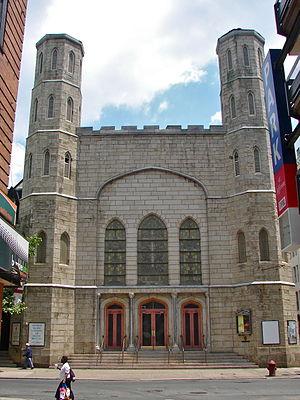 St. Stephen's Episcopal Church (Philadelphia) - Image: St Steves Philly 2