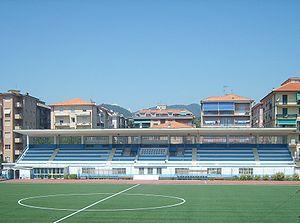 Stadio Comunale (Chiavari) - Image: Stadio Comunale di Chiavari (Tribuna)