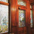 Stained Glass Side Door of the 1890 House.png