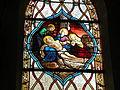 Stained glass windows of Église Saint-Léger d'Andeville 01.JPG