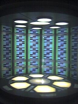 Star Trek - Enterprise D Transporter