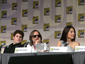 """Chun-Li - Ming-Na (right, in 2009) portrayed Chun-Li in 1994's Street Fighter film, as well as the games based on it. Ming-Na said: """"Who wouldn't love to portray a superheroine? Chun-Li is a warrior woman who Is courageous, aggressive, intelligent and sexy. She either seduces a man with her charm or gets to kick his butt."""""""