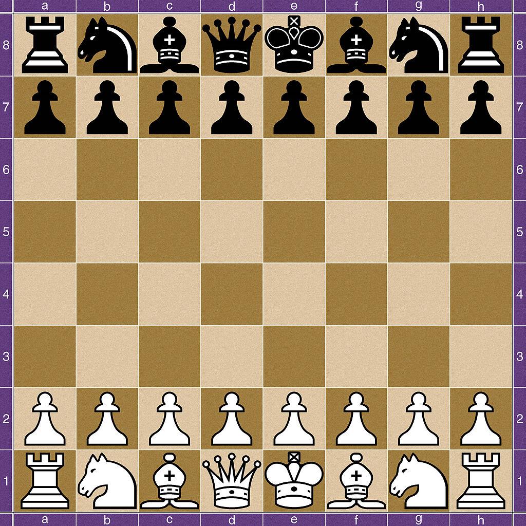 كيفية لعب الشطرنج - وضع البدء