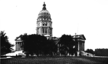 Kansas State Capitol in 1912