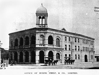 Burns Philp - Burns Philp Building in Townsville, Queensland in 1901