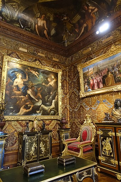 Chatsworth House History: File:State Music Room, Chatsworth House