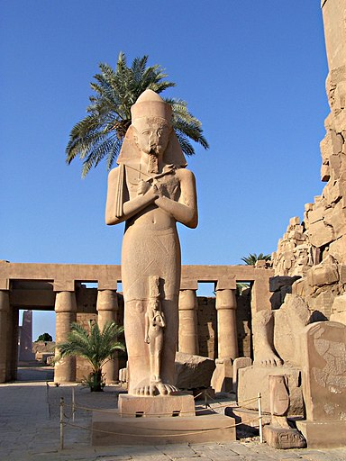 Statua di Pinudjem I - Karnak