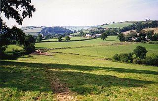 Stawley village in the United Kingdom