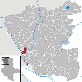 Location of Steimke in Altmarkkreis Salzwedel district prior to its merger into Klötze
