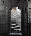 Steps to refectory, Birkenhead Priory.jpg