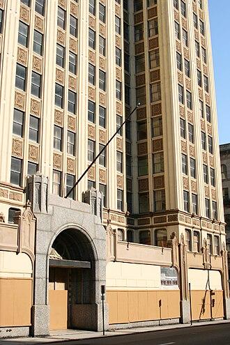 Sterick Building - Image: Sterickbuilding entrance