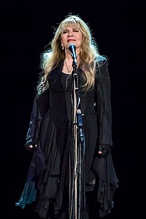 Stevie Nicks American singer and songwriter, member of Fleetwood Mac