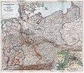 Stieler - Das Deutsche Reich in 4 Blättern, 1905 (composite map).jpg