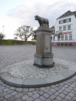 Georg Wrba - Image: Stierbrunnen schlachthof ostragehege